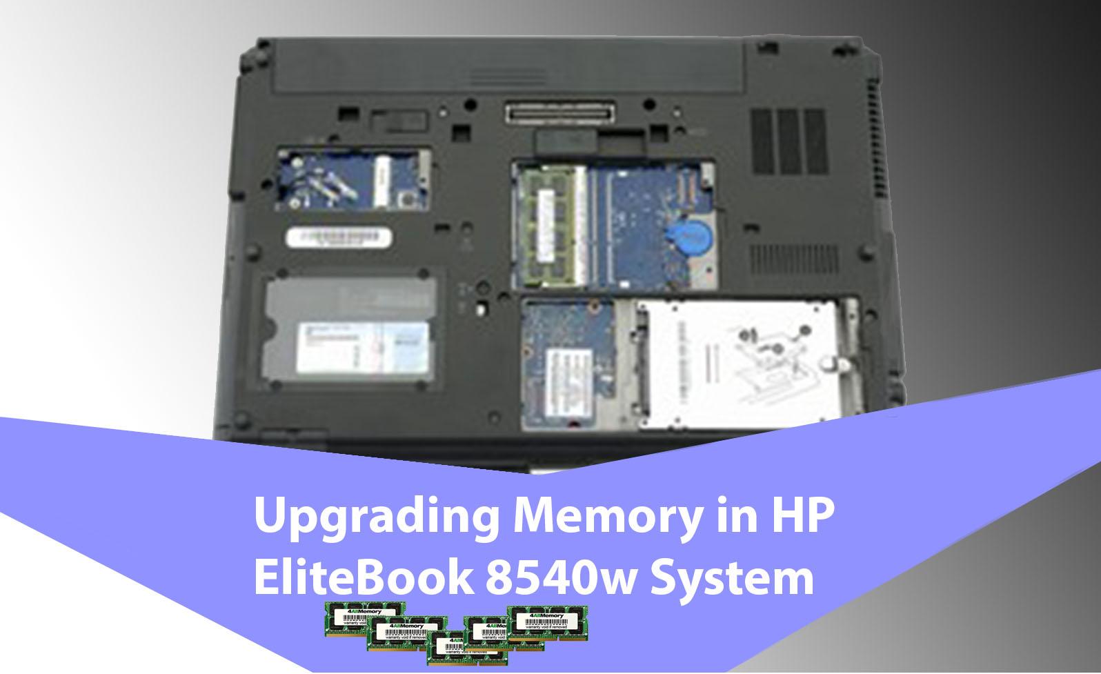 HP EliteBook 8540w system