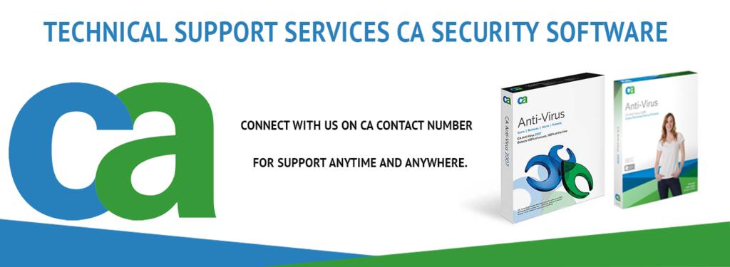CA ANTIVIRUS TECH SUPPORT