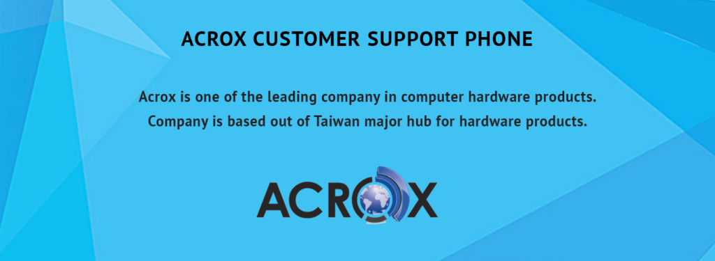 ACROX Customer Support