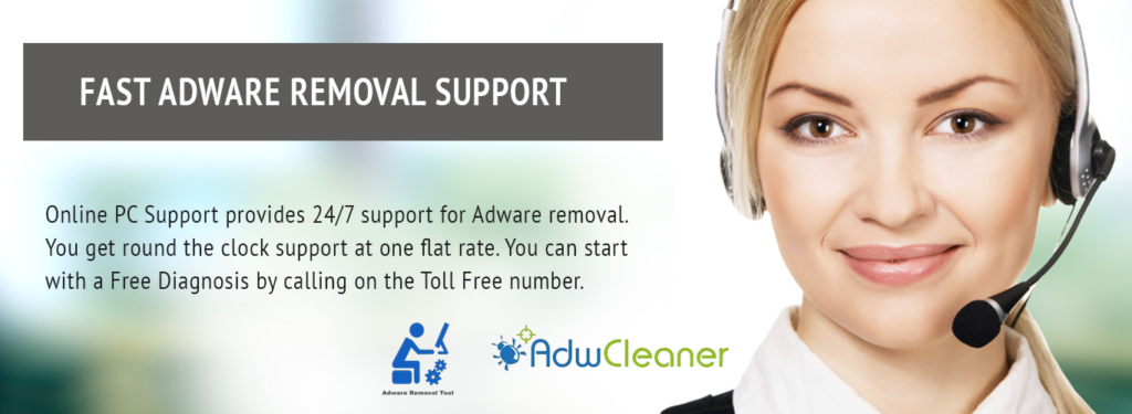 ADWARE REMOVAL Technical Support