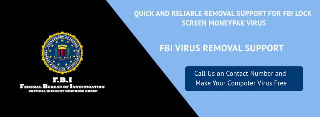 FBI VIRUS REMOVAL TECH SUPPORT
