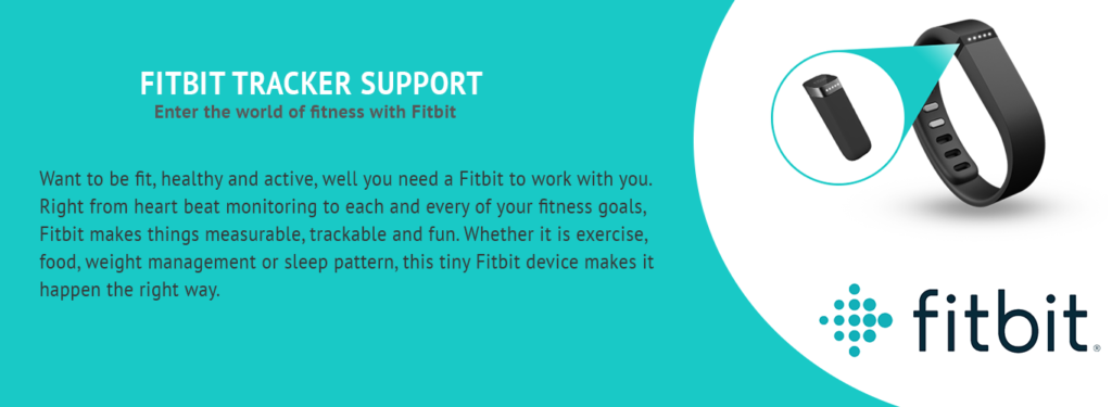 Fitbit Tracker Support
