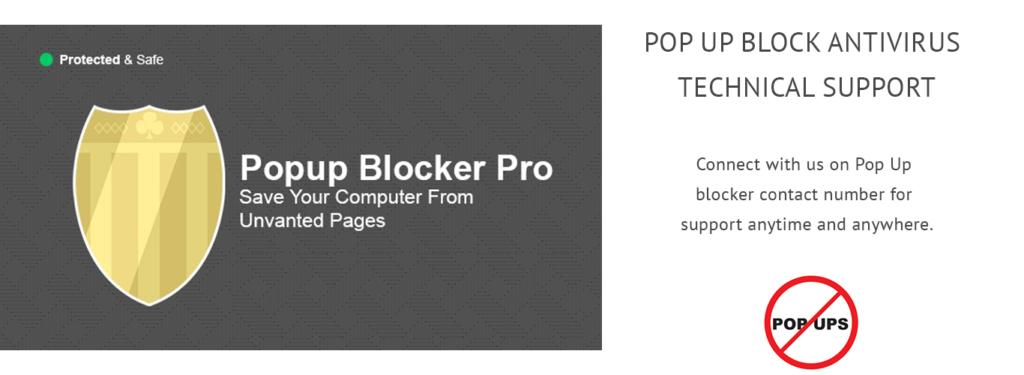 POP UP BLOCK  TECH SUPPORT