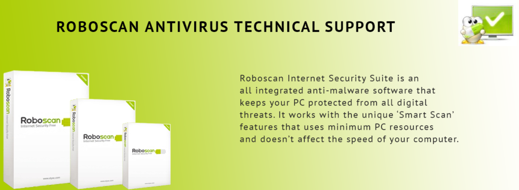 ROBOSCAN ANTIVIRUS TECH SUPPORT