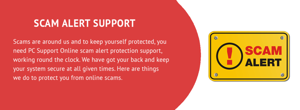 SCAM ALERT TECH SUPPORT