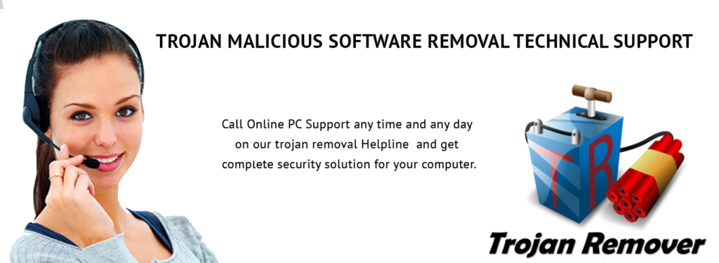 TROJAN REMOVAL TECH SUPPORT