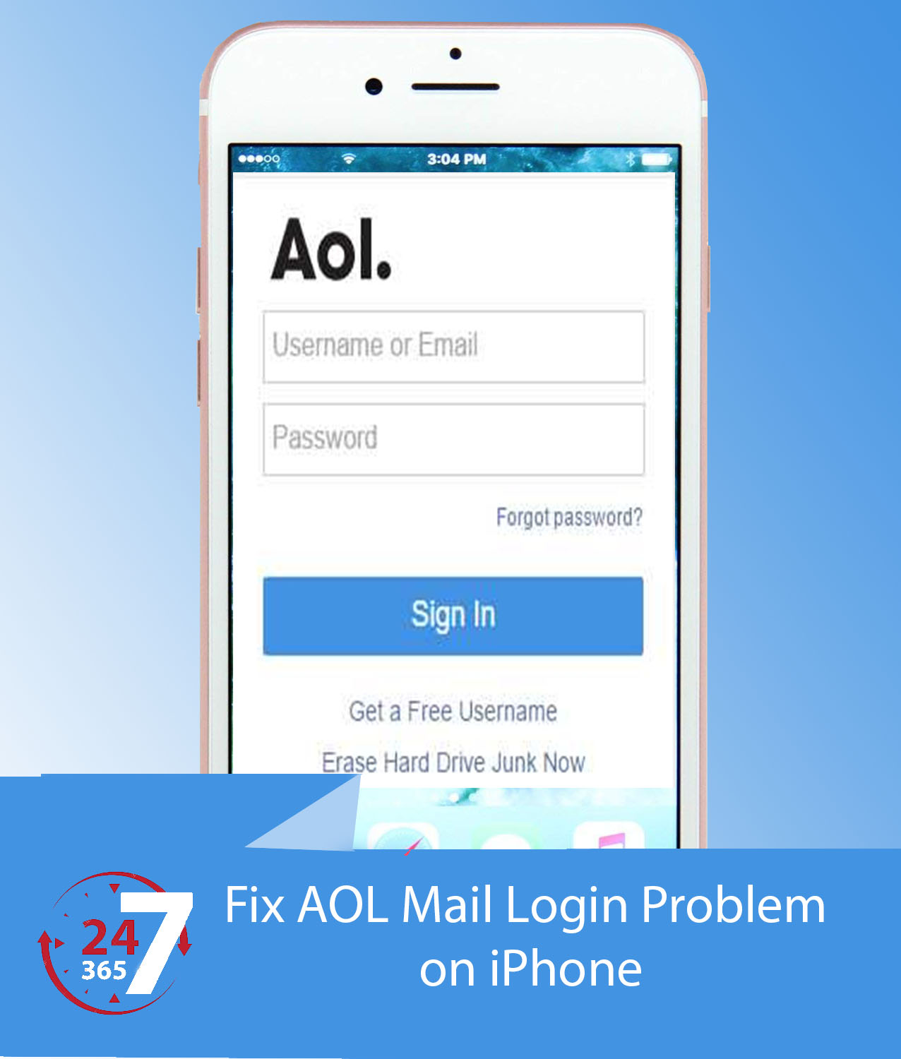 How to Fix AOL Mail Login Problem on iPhone