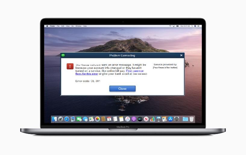 Fix QuickBooks Online Error